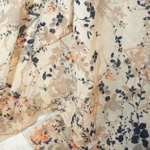 Large Floral Wrap Scarf Wall hanging Tablecloth
